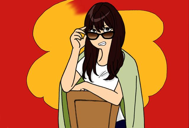 怒ってる女性イライラ