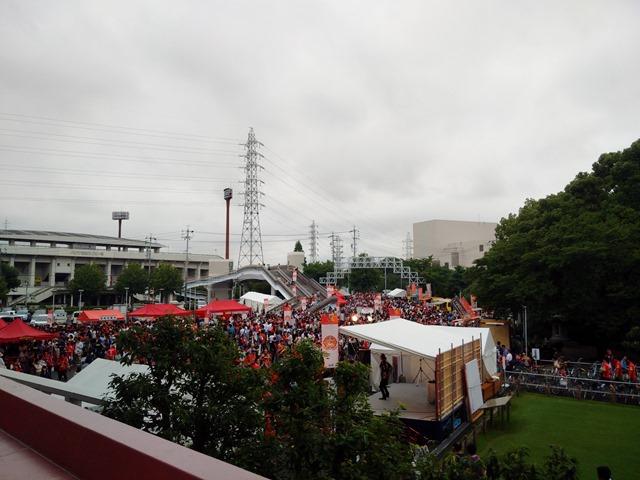 パロマ瑞穂スタジアム正面前広場