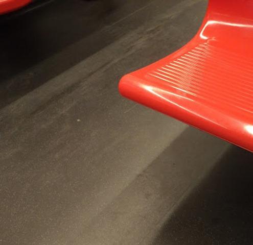 ヘルシンキの地下鉄座席