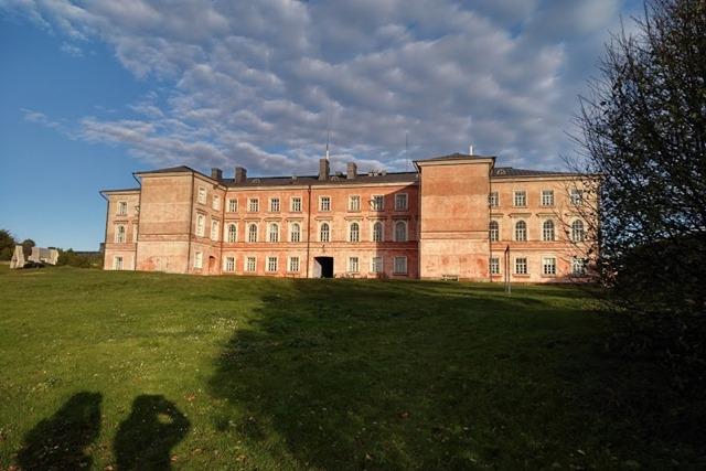 スオメンリンナ要塞の集合住宅