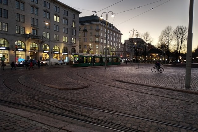 フィンランド路面電車