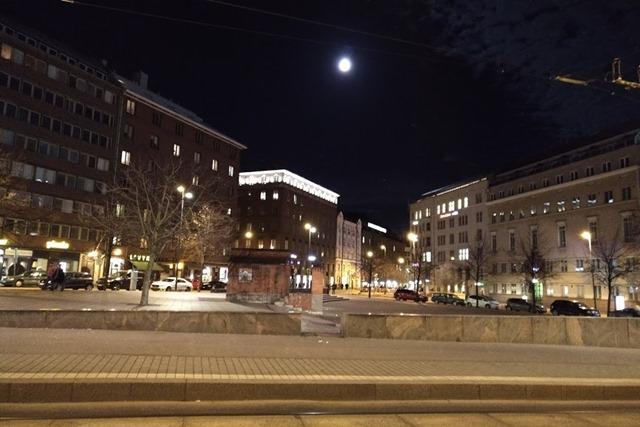 フィンランド満月