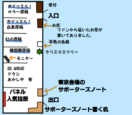 樋口大輔原画展会場大阪