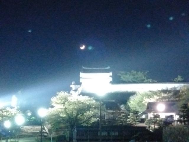 夜の姫路城月ドゥ・ザ・キャッスル
