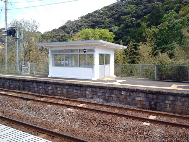 東浜駅待合室鳥取県