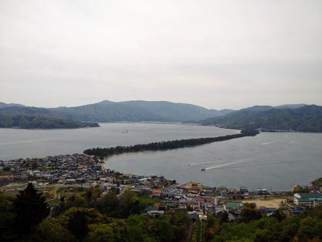 天橋立傘松公園からの景色感想