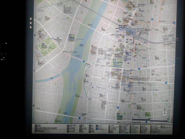 富山駅周辺地図