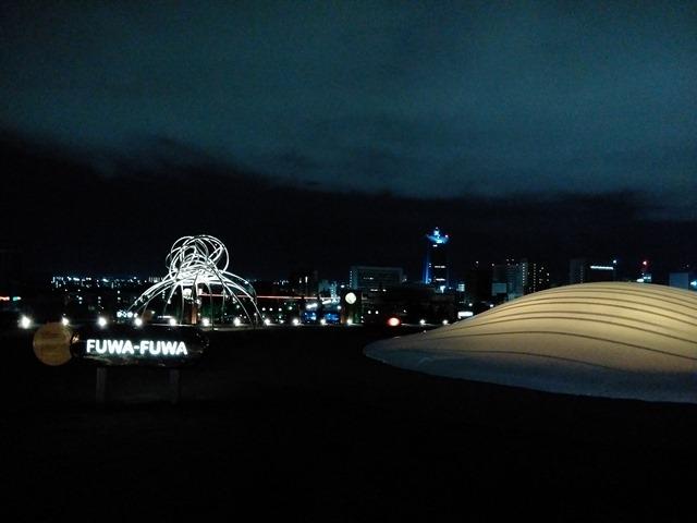富山県美術館屋上庭園