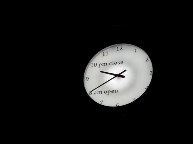 富山県美術館時計
