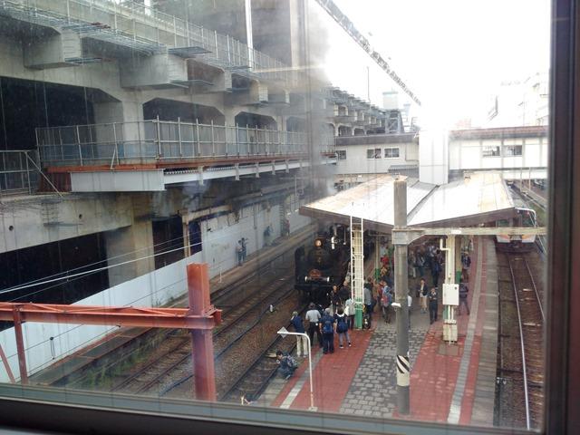 新潟駅SL