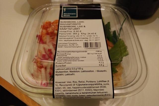 フィンランド寿司ボウル