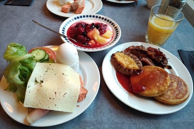 ホテルヘルカ朝食