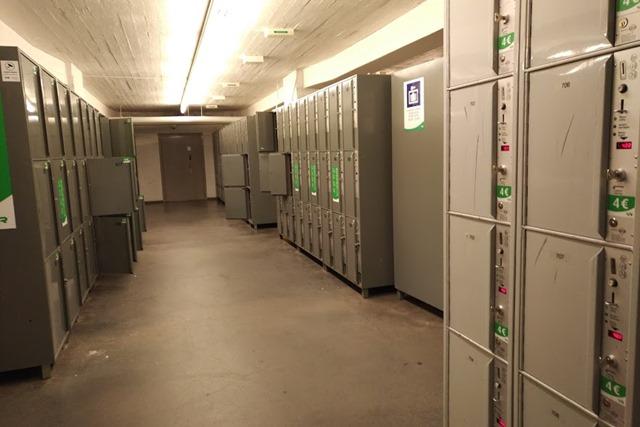 ヘルシンキ中央駅コインロッカー