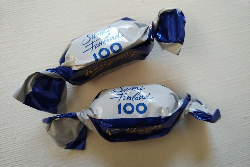 フィンランド100周年チョコレート