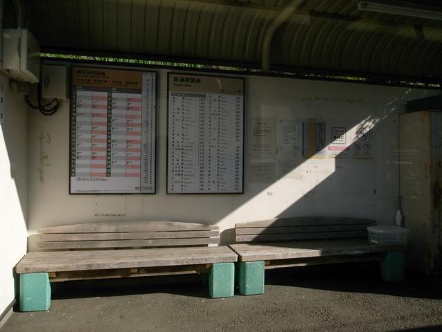 飯田線ノート駅ホーム