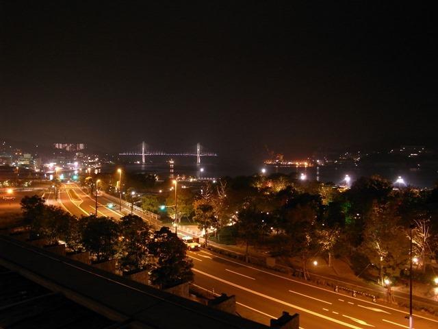 長崎県美術館屋上夜景