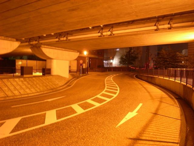 長崎道路夜