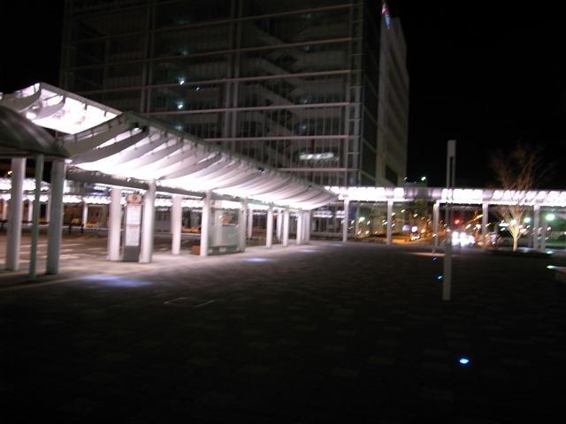 福井駅夜綺麗