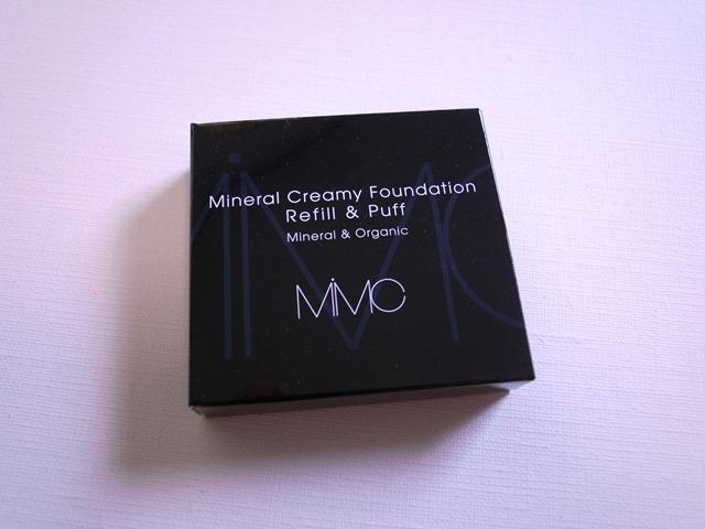 MiMCミネラルクリーミーファンデーション