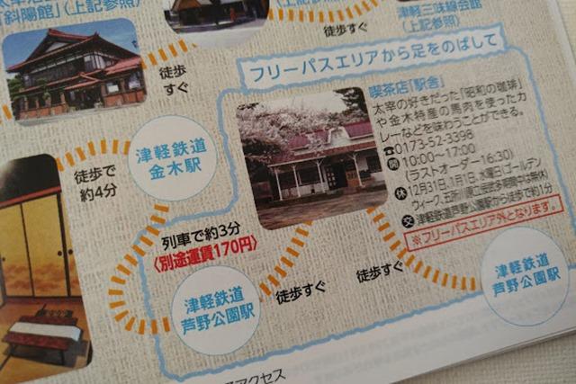 津軽フリーパス芦野公園駅