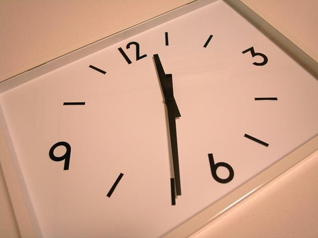 駅の時計感想