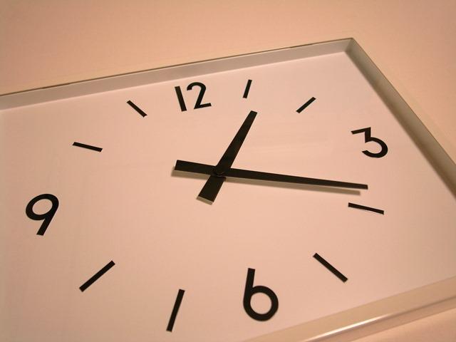 駅の時計無印良品