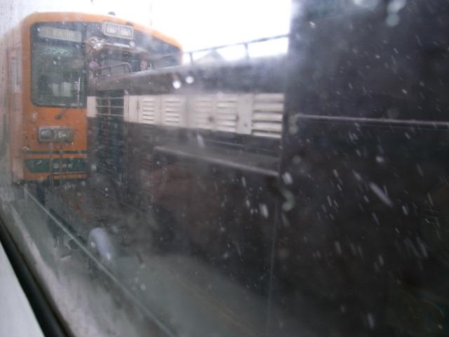 メロス号機関車牽引