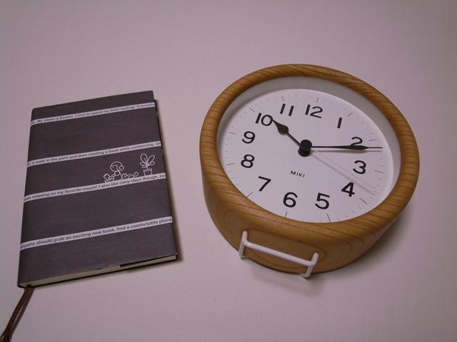 ケヤキの時計MIKIサイズLemnos