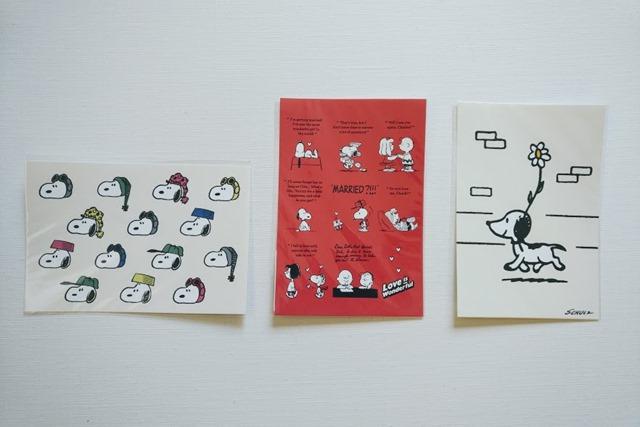 スヌーピーミュージアムポストカード