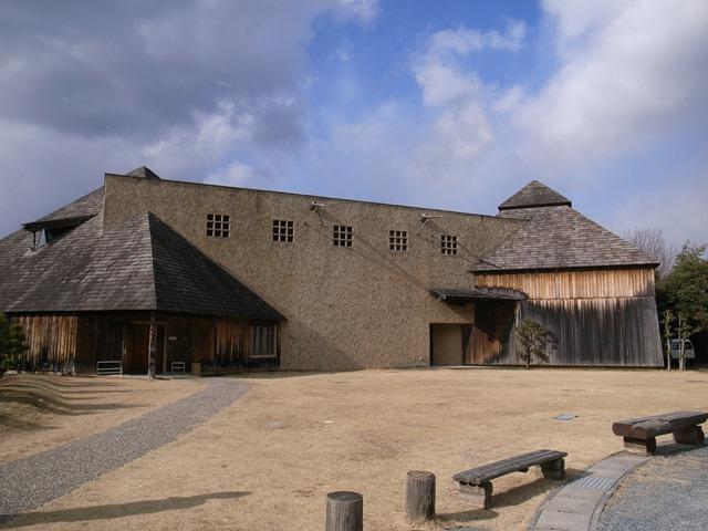 秋野不矩美術館感想建物