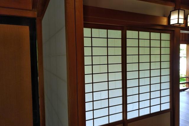 北九州市立小倉城庭園の障子