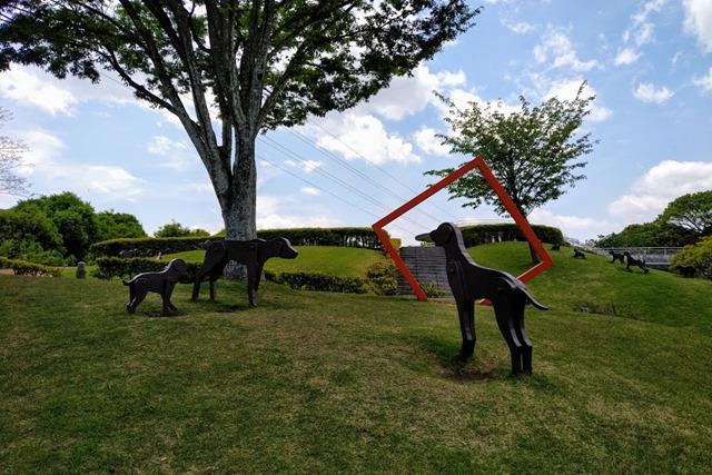 大分市美術館犬