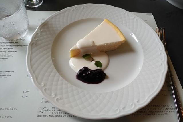 山のレストランチーズケーキ
