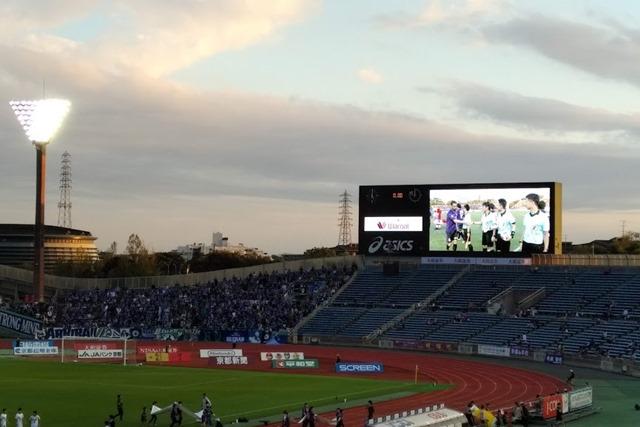 西京極スタジアム大型モニター