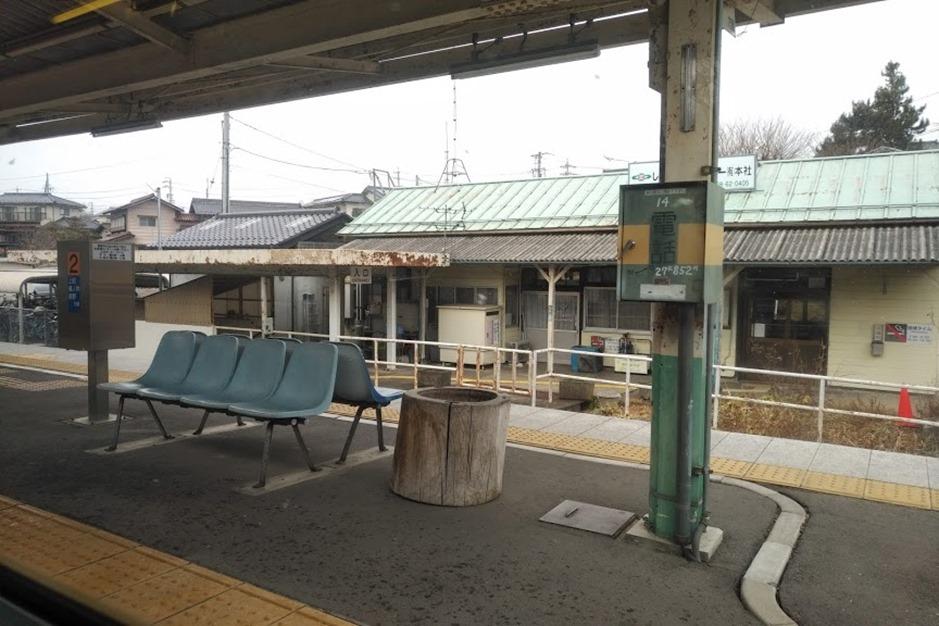 しなの鉄道駅