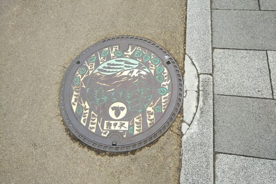 軽井沢マンホール