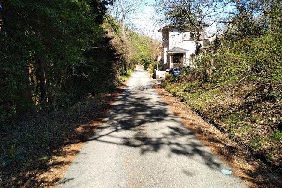 村上康成美術館への道