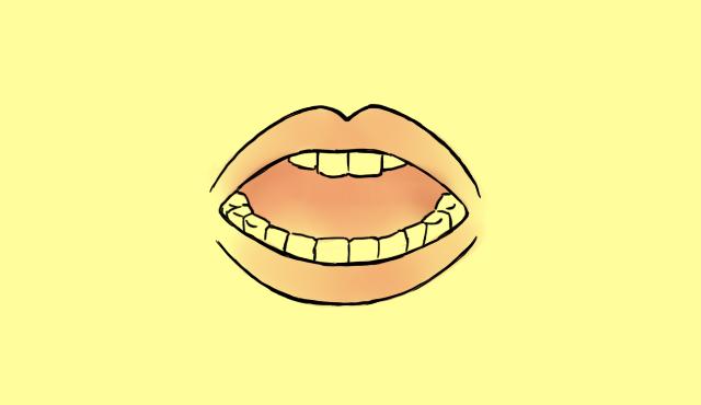 口のイラスト