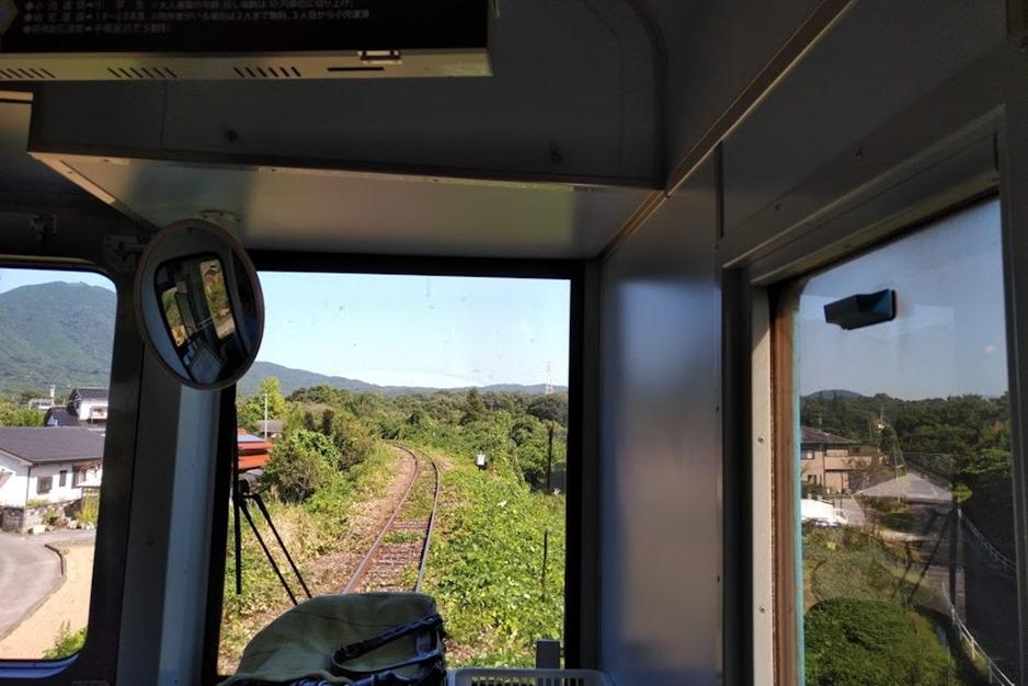 平成筑豊鉄道の車窓