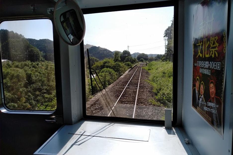 平成筑豊鉄道の線路