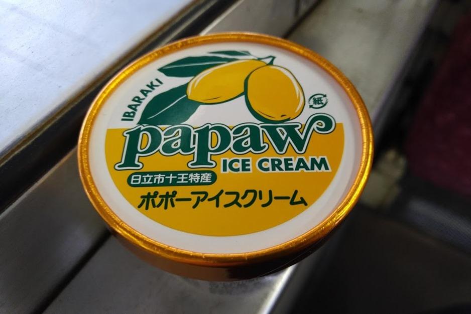 ポポーアイスクリーム