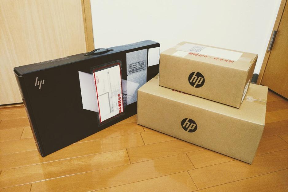 HPでパソコン購入