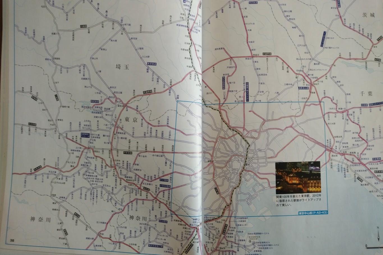 首都圏路線図