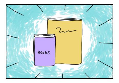 本屋で購入した本