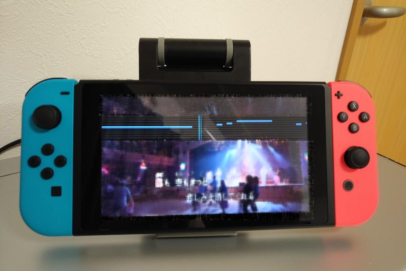 NintendoSwitchでカラオケ