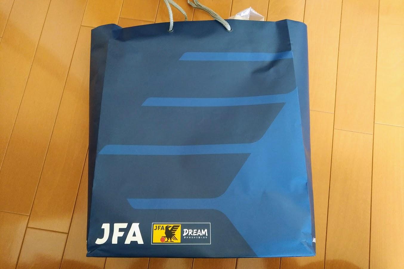 JFAの紙袋