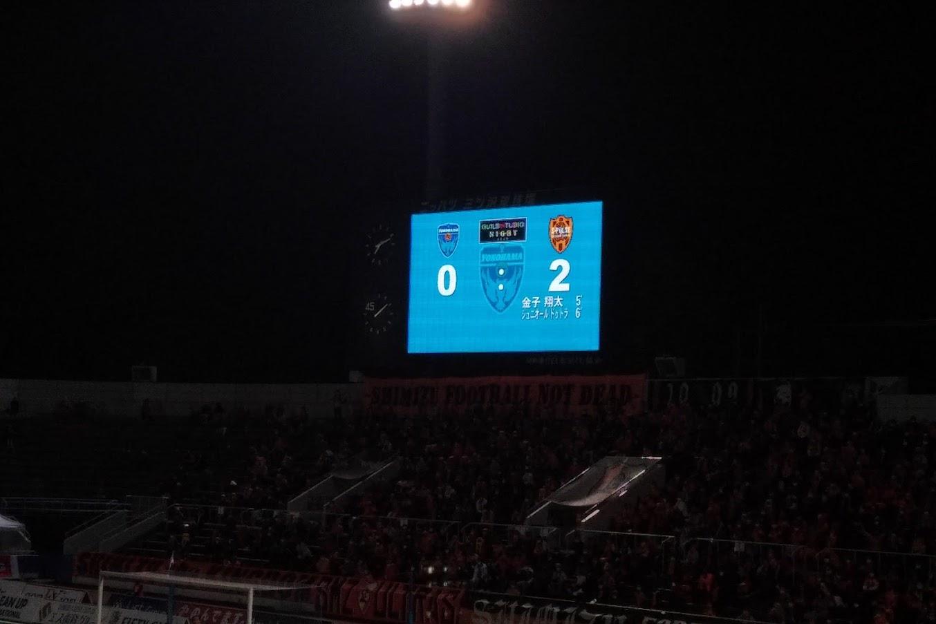 横浜FC清水エスパルス