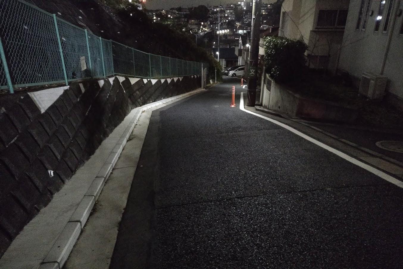 ニッパツ三ツ沢競技場から横浜駅までの道