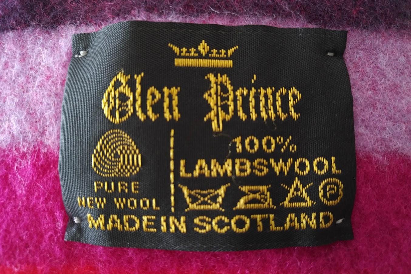 スコットランドのマフラー