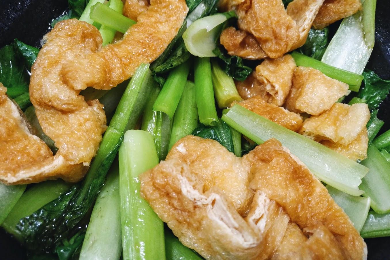 小松菜の煮蒸し